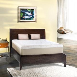 Comfort Dreams Lumbar Back Support 12-inch Queen-size Memory Foam Mattress