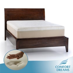 Comfort Dreams Lumbar Back Support 12-inch Twin-size Memory Foam Mattress