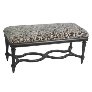 Safavieh Garret Zebra Wood Bench