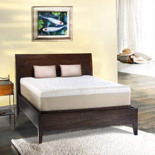 Comfort Dreams Lumbar Back Support 12-inch California King-size Memory Foam Mattress