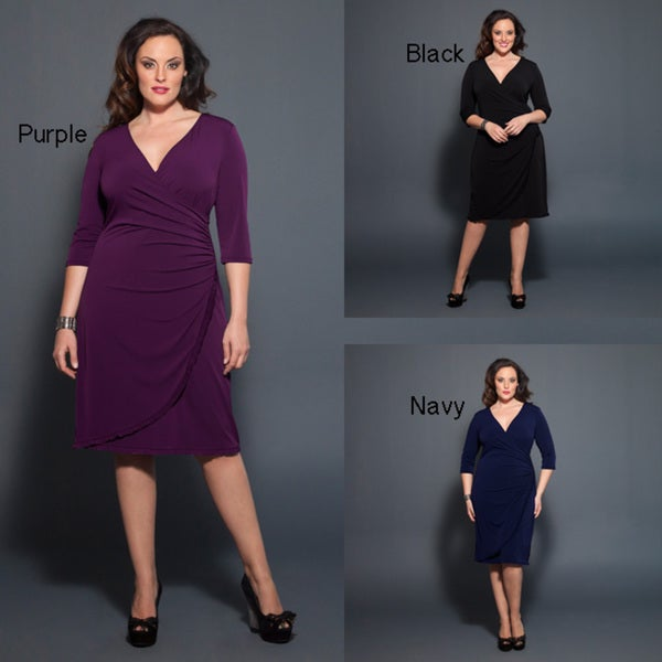Kiyonna Women's Plus Size 'Tory' Cinch Dress