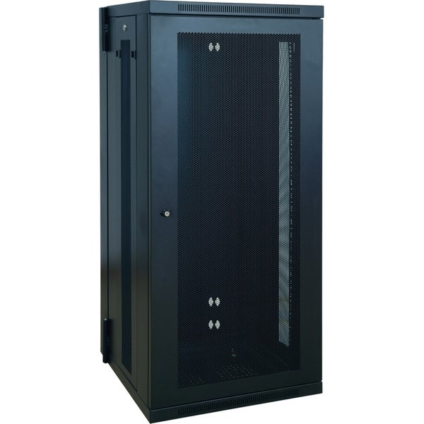Tripp Lite 26U Wall Mount Rack Enclosure Server Cabinet Hinged w/ Doo