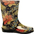 Sloggers Women's Midsummer Black Tallboot