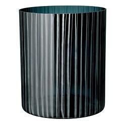 Orrefors Black Slowfox Round Vase