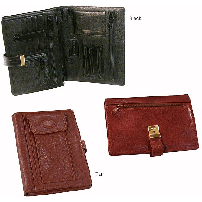 Men's Carry-all Leather Wallet Organizer