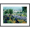 Monet 'Irises, Claude Monet's Country Estate' Art Print