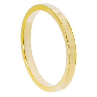 NEXTE Jewelry Yellow 14k Gold Women's Overlay Contoured Fit Band (2 mm)