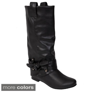 Glaze by Adi Women's Side Knot Tall Boots