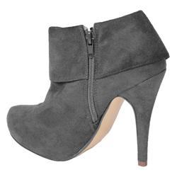 Glaze by Adi Women's High Heel Faux Suede Booties