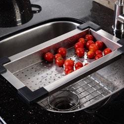 Kraus Kitchen Accessory Stainless Steel Sink Colander