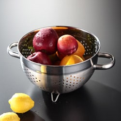 Kraus Kitchen Accessories Steel Colander