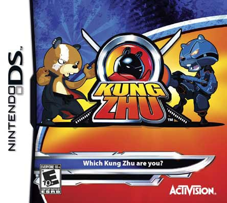 Nintendo DS - Kung Zhu - By Activision Inc