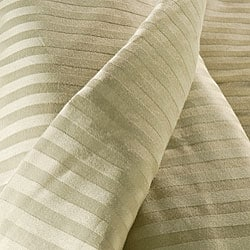 Egyptian Cotton 300 Thread Count Stripe 3-piece Duvet Cover Set