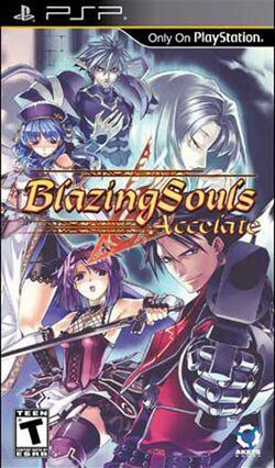 PSP - Blazing Souls