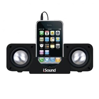 i.Sound DGIPOD-1559 2.0 Speaker System - 3 W RMS - Black