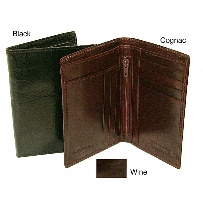 Italian Leather Bi-fold Wallet