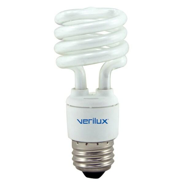 Fluorescent Light Line Spectrum: Verilux 13-watt Broad Spectrum Fluorescent Light Bulb
