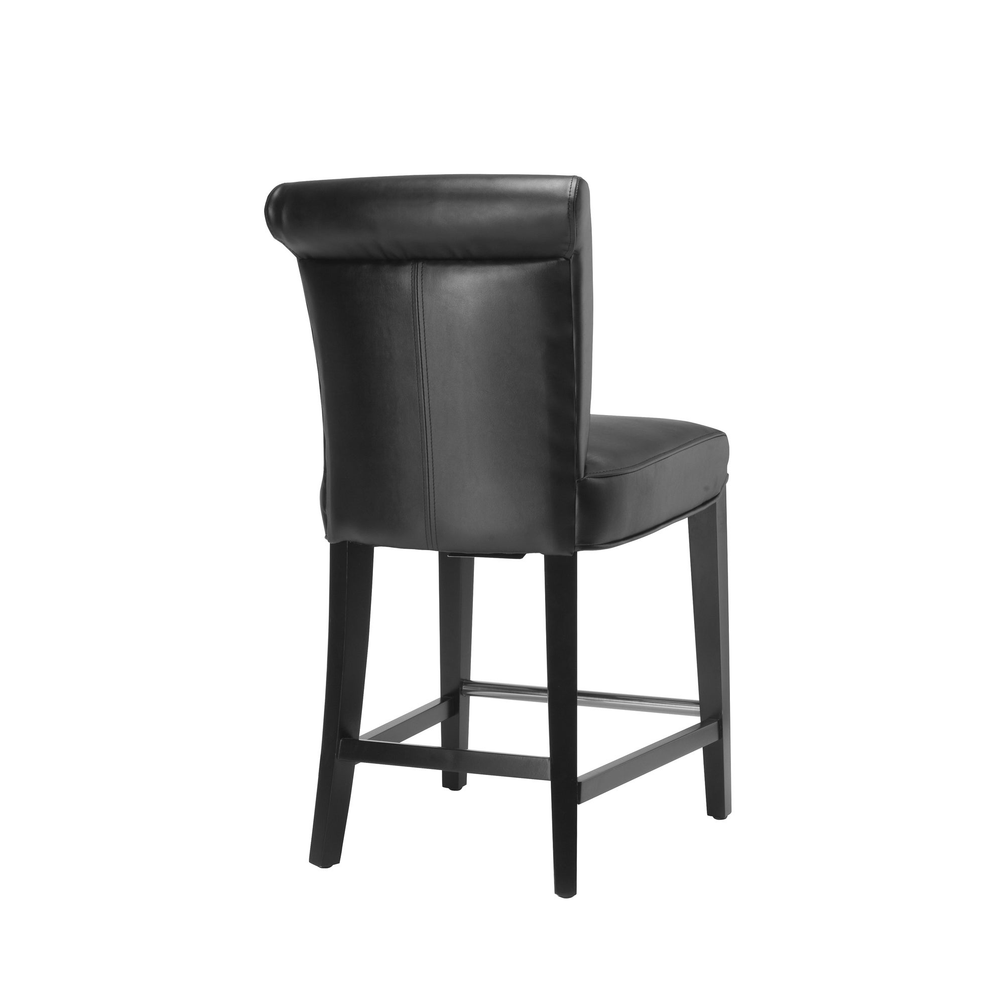 AT HOME by O Madison Black Leather Counter Stool at Sears.com