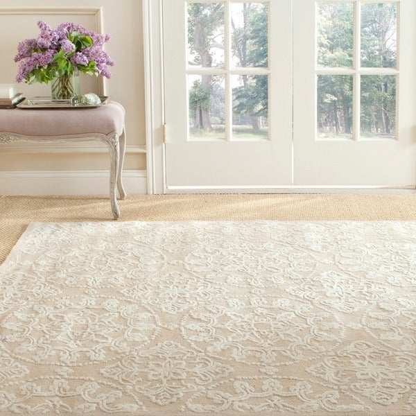 Martha Stewart Terrazza Ivory Cotton Rug (3'9 x 5'9)