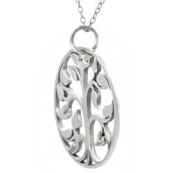 Tressa Sterling Silver Tree of Life 20-mm Necklace