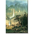 Albert Bierstadt 'Cho-Looke, Yosemite Waterfall' Canvas Art
