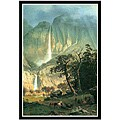 Large Albert Bierstadt 'Cho-Looke, Yosemite Waterfall' Canvas Art