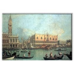 Canaletto 'Palazzo Ducale' 24x36-inch Canvas Art