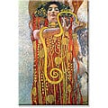 Gustav Klimt 'Hygeia' Canvas Art