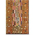 Gustav Klimt 'Frieze' Small Canvas Art