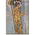 Gustav Klimt 'Beethoven Frieze 2' Canvas Art