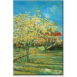 Vincent Van Gogh 'Orchard' Canvas Art
