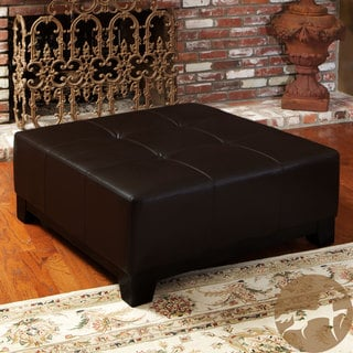 Leather Ottomans Overstock Shopping The Best Prices Online
