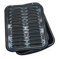 Porcelain Broiler Pan with Grill