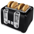 Black &amp; Decker Black 4-Slice Toaster