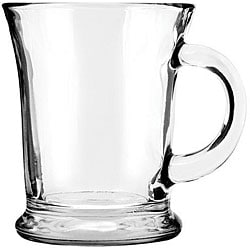 Anchor Hocking 13.5-oz Glass Mocha Mugs (Pack of 6)