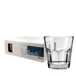 Challenger 8-oz Rocks Glasses (Pack of 12)