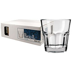 Challenger 8-oz Rocks Glasses (Pack of 12)