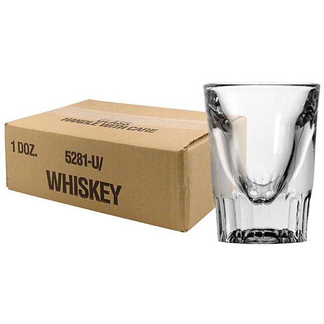 Challenger 1.5-oz Whiskey Glasses (Pack of 12)