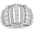 18k White Gold 2 1/3ct TDW Diamond Fashion Ring (G-H, SI1-SI2)