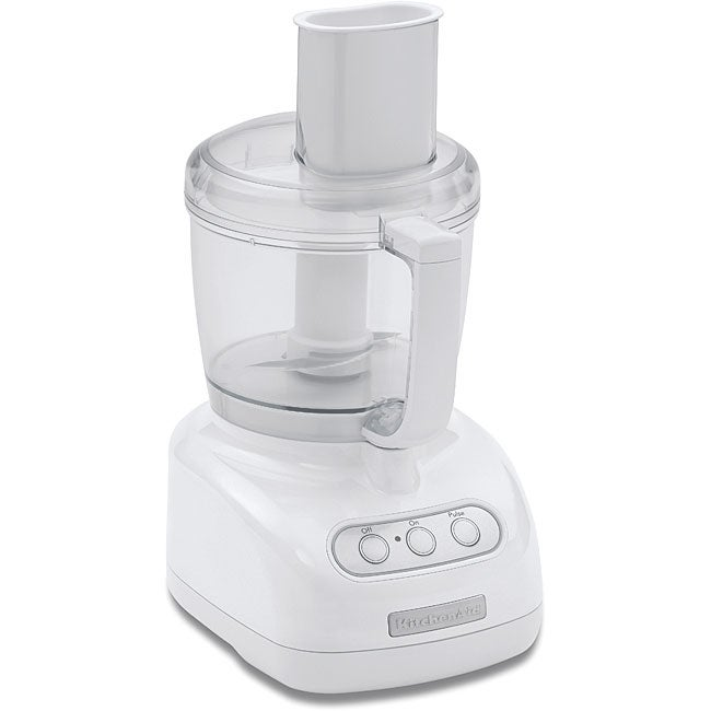 KitchenAid RKFP710WH White 7-cup Food Processor (Refurbished)
