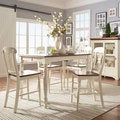 TRIBECCA HOME Mackenzie 7-piece Country White Dining Set