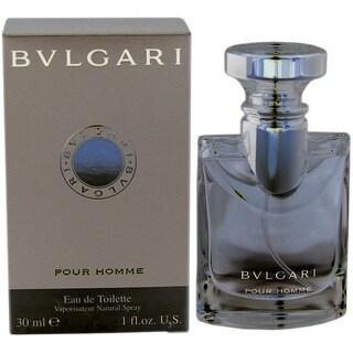 Bvlgari Pour Homme Men's 1-ounce Eau de Toilette Spray
