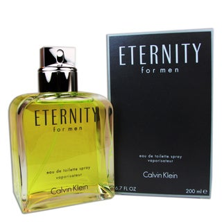 Calvin Klein 'Eternity' Men's 6.7-ounce Eau de Toilette Spray