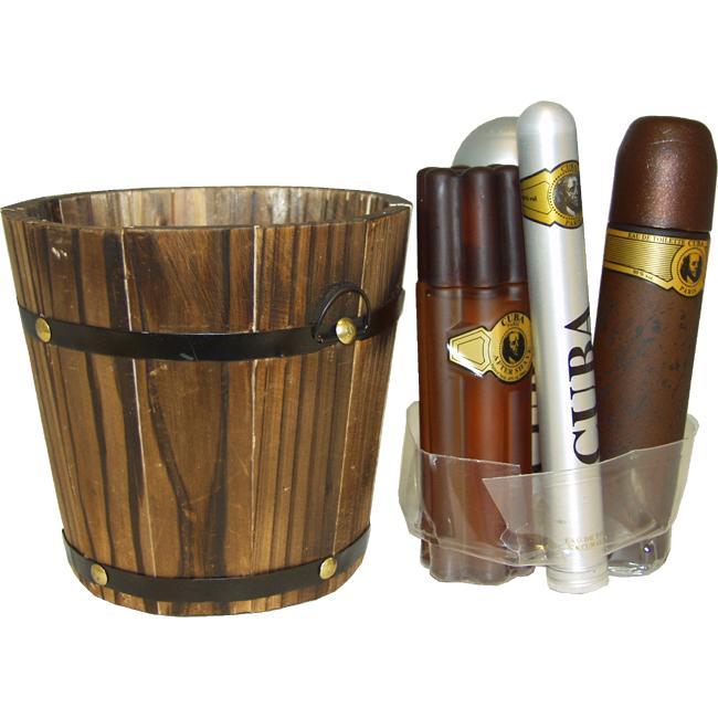 Cuba Gold Men's 5-piece Fragrance Gift Set