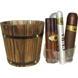 Cuba 'Cuba Gold' Men's 5-piece Fragrance Gift Set