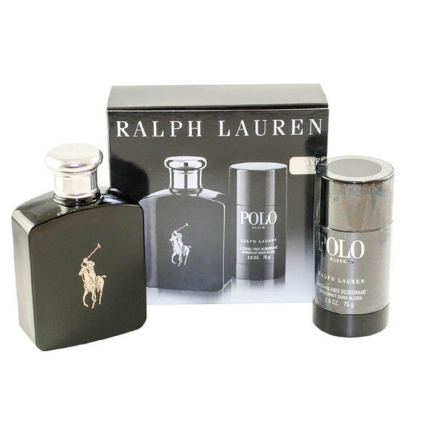 Ralph Lauren 'Polo Black' Men's 2 Piece Gift Set