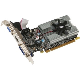 MSI N210-MD1G/D3 GeForce 210 Graphic Card - 589 MHz Core - 1 GB GDDR3
