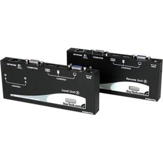 StarTech.com Long Range USB VGA KVM Console Extender over Cat5 UTP -