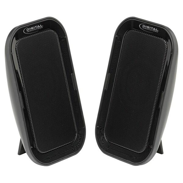 Digital Innovations AcoustiX 4330300 2.0 Speaker System - 4.8 W RMS