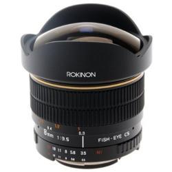 Rokinon 8mm F3.5 for Olympus Ultra-wide Aspherical Fisheye Lens